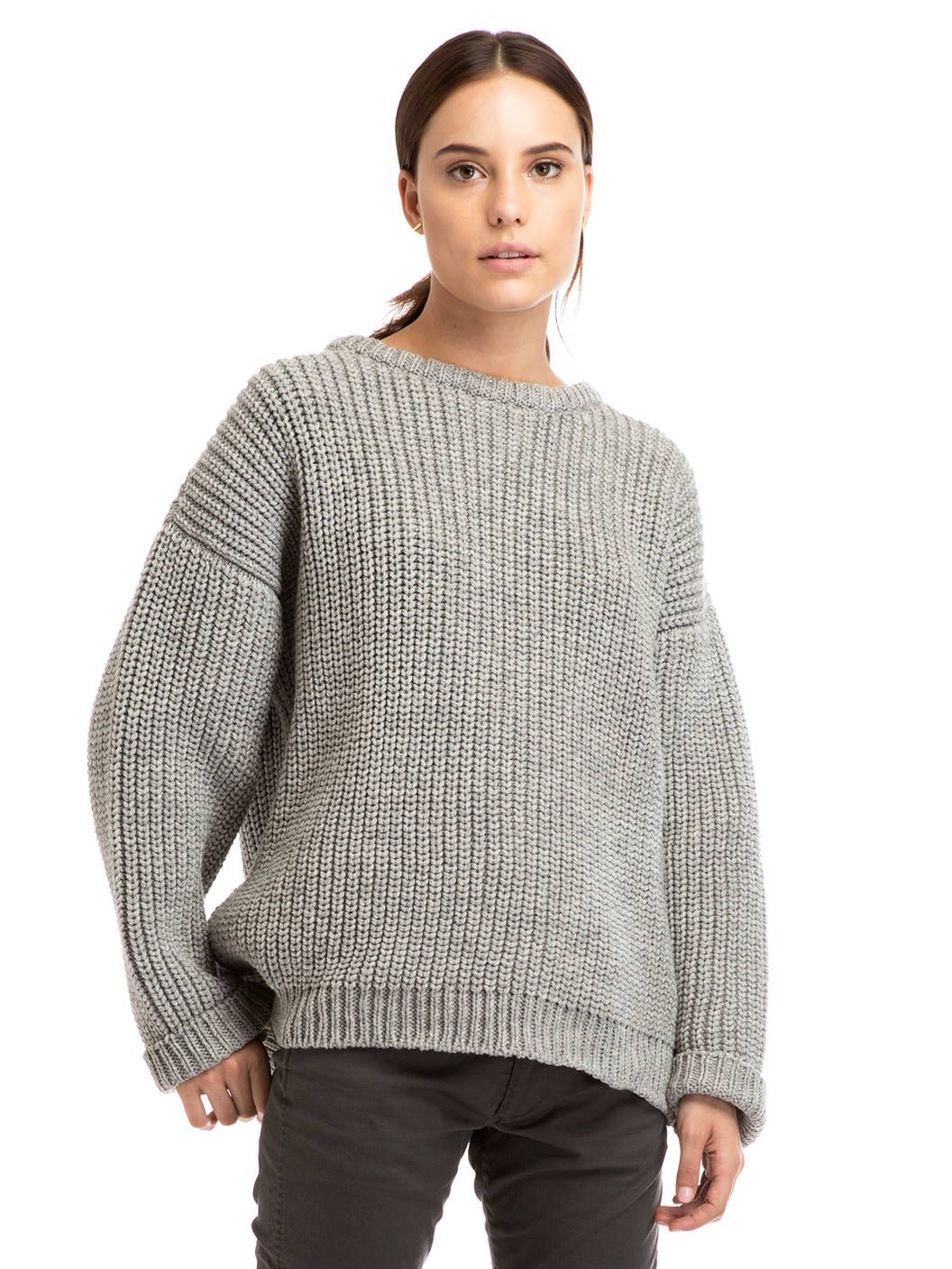 Cozy Sweaters | Gray, Oversized jumper and Spring style