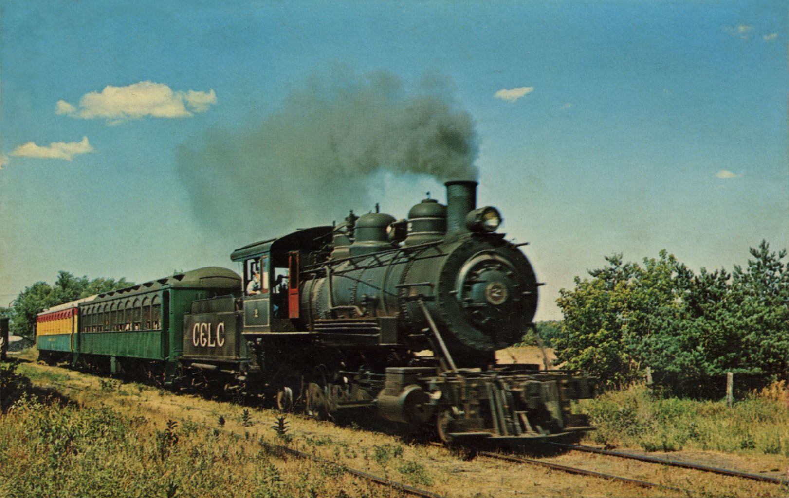 Old Steam Trains | CADILLAC & LAKE CITY RAILWAY This full ...