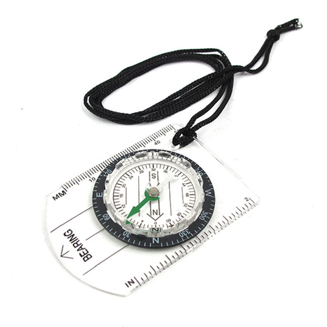 New Design 1pcs Portable Compass Outdoor Hiking Camping