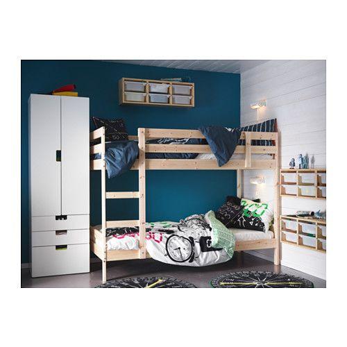 MYDAL Bunk Bed Frame, Pine