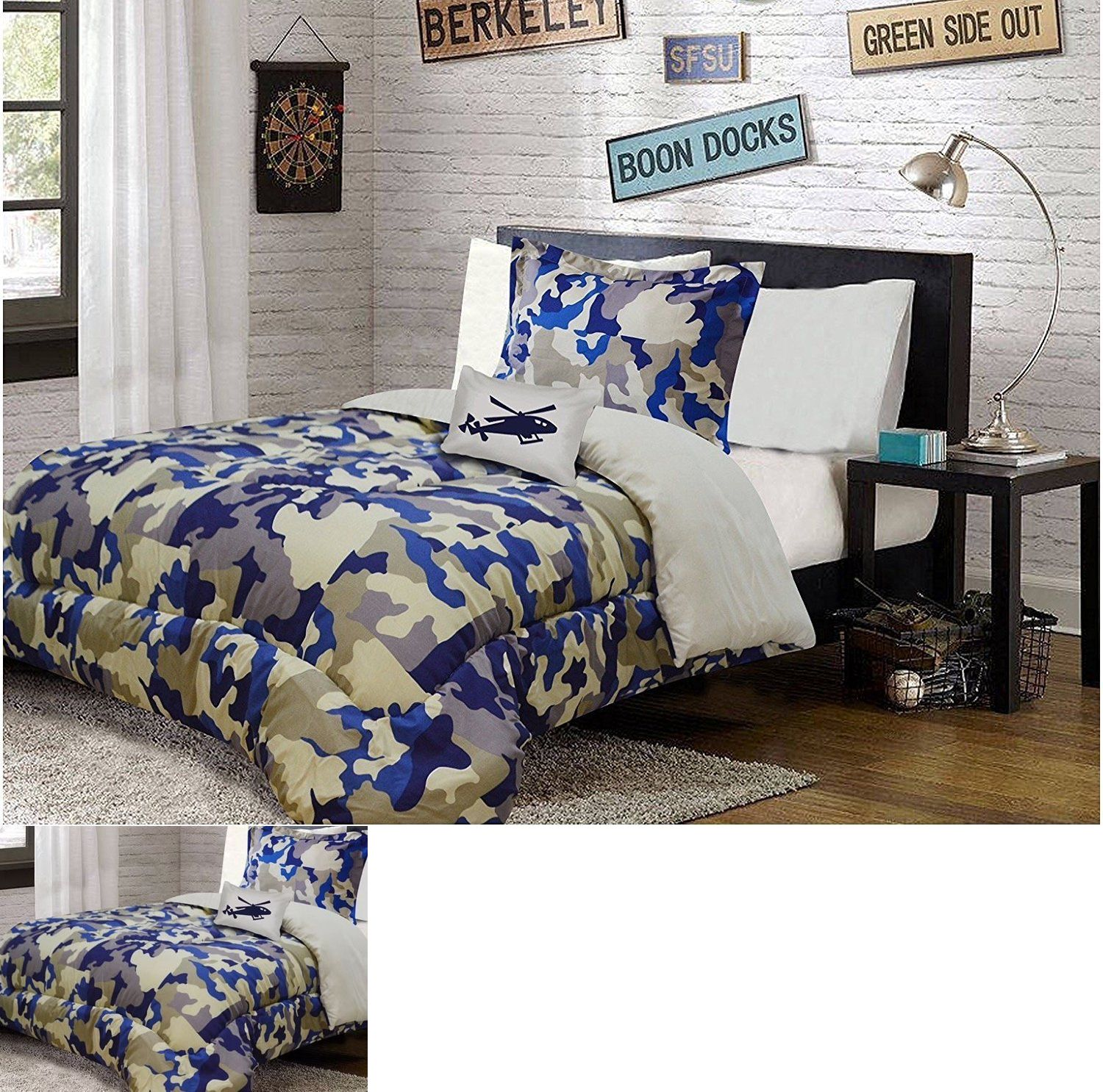Comforters and Sets 66728: Military Army Camouflage Teens ...