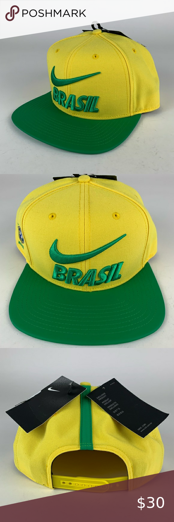 Brazil Fifa Nike Snapback Hat Snapback Hats Nike Hat Hats For Sale