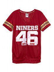 92b52ecd01299 San Francisco 49ers - Victoria's Secret   Faithfulista's! Who's got ...