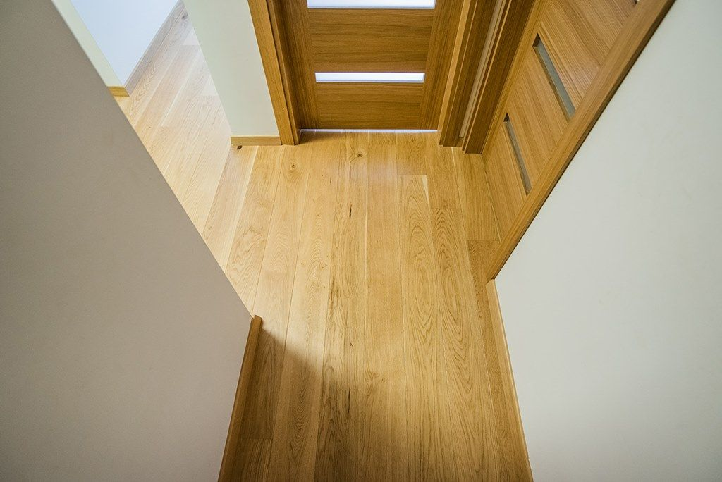 We Have Over 80 Sq M Of Oak Natural Engineered Wood Flooring On