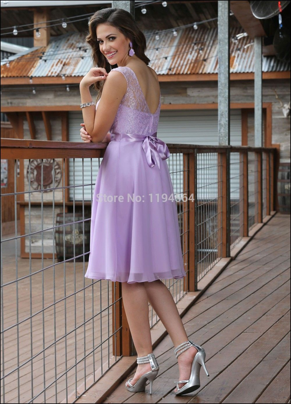 Lilac Dress For Wedding Guest