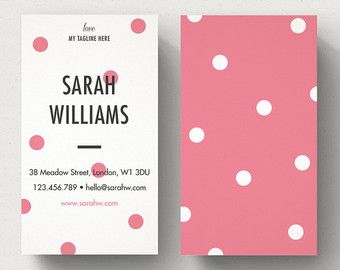 Personalised Business Card Template Calling Card Unique Bc Etsy Business Card Dimensions Customizable Business Cards Templates Create Business Cards