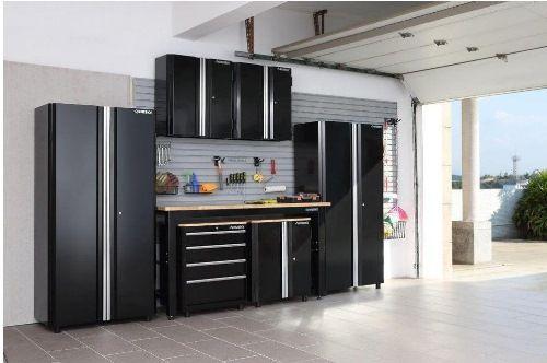 Organized Urban Garage Using Husky Storage Units Via Storefront Life