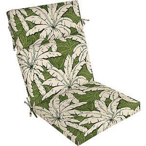 Genial Palms Chair Cushion, Multiple Patterns