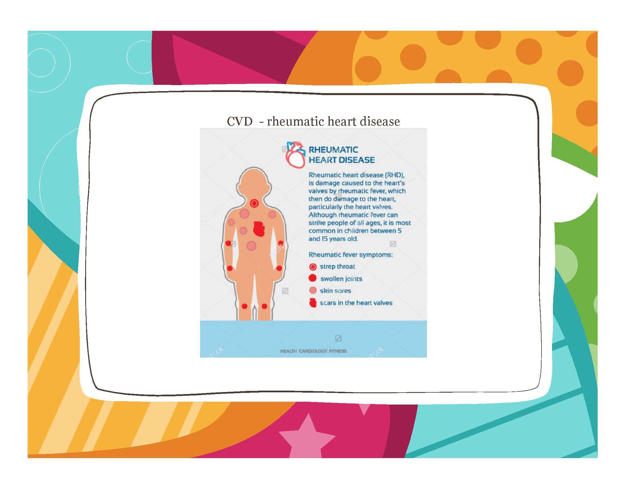 Cvd rheumatic heart disease did you know atsi children