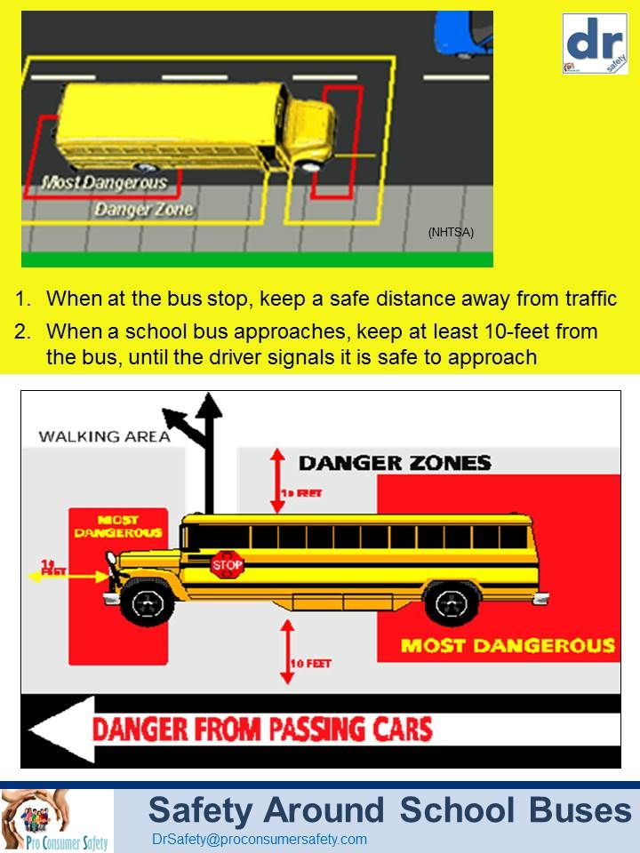 Updated Give Your Child Some Safety Tips For Around School Buses