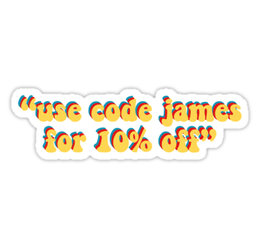 James Charles Use Code James For 10 Off Stickers By Mandykamp Redbubble James Charles Funny Stickers Red Bubble Stickers