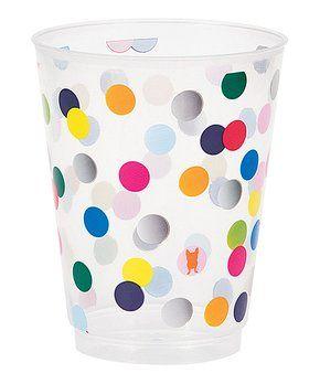 Birthday Dots Tumbler - Set of 10
