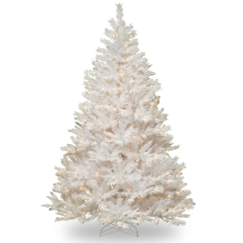 National Tree Company 7.5-ft. Pre-Lit Winchester White Pine ...