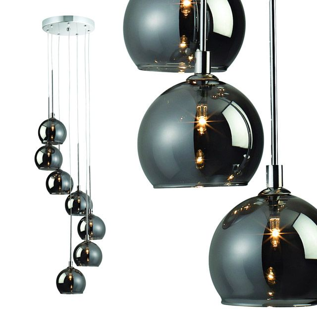 lustre p gase chrome colours castorama en promo luminaires pinterest mid century. Black Bedroom Furniture Sets. Home Design Ideas