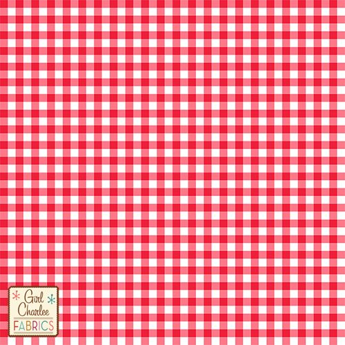 4aa71efe0b1 Bittersweet Red Gingham Cotton Jersey Blend Knit Fabric - New from the Girl  Charlee Modern Air Collection!! On trend gingham check in our new  Bittersweet ...
