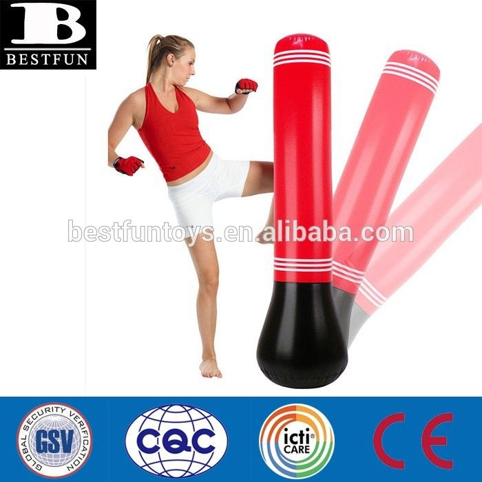 Custom Inflatable Punching Bag Plastic Foldable Taekwondo For Find Complete Details About