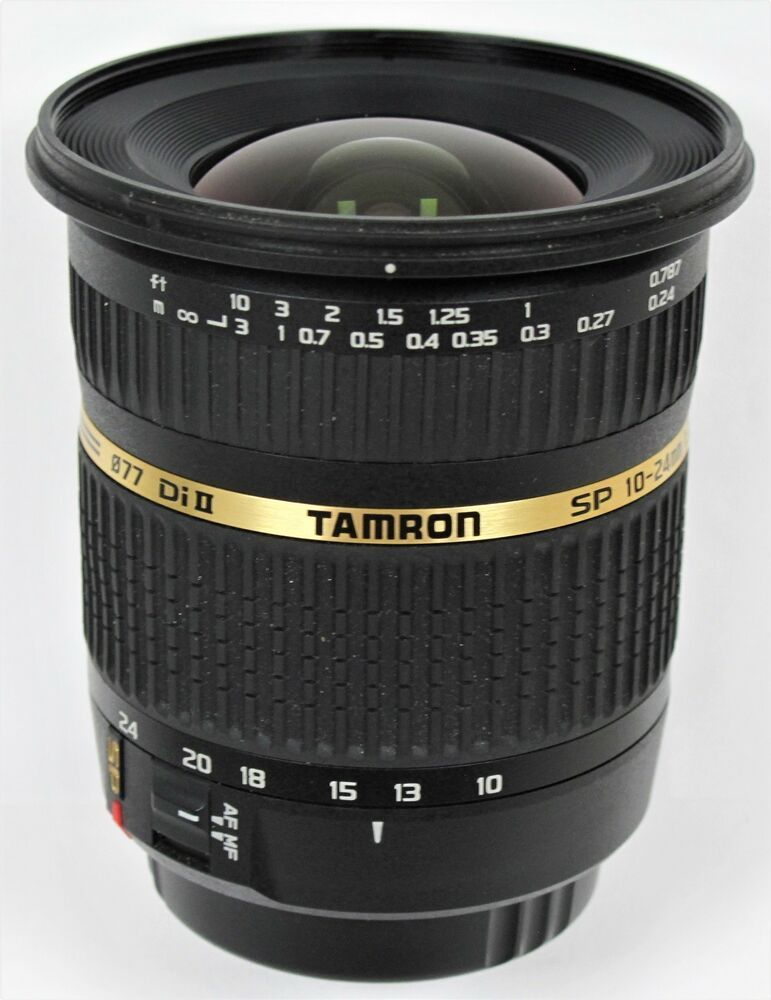 Tamron 10 24mm F 3 5 4 5 Di Ii Sp Wide Angle Lens Boxed Canon Af Tamron 10 Things Wide Angle Lens