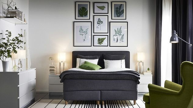 quelle d co au dessus du lit m6 chambre d coration. Black Bedroom Furniture Sets. Home Design Ideas