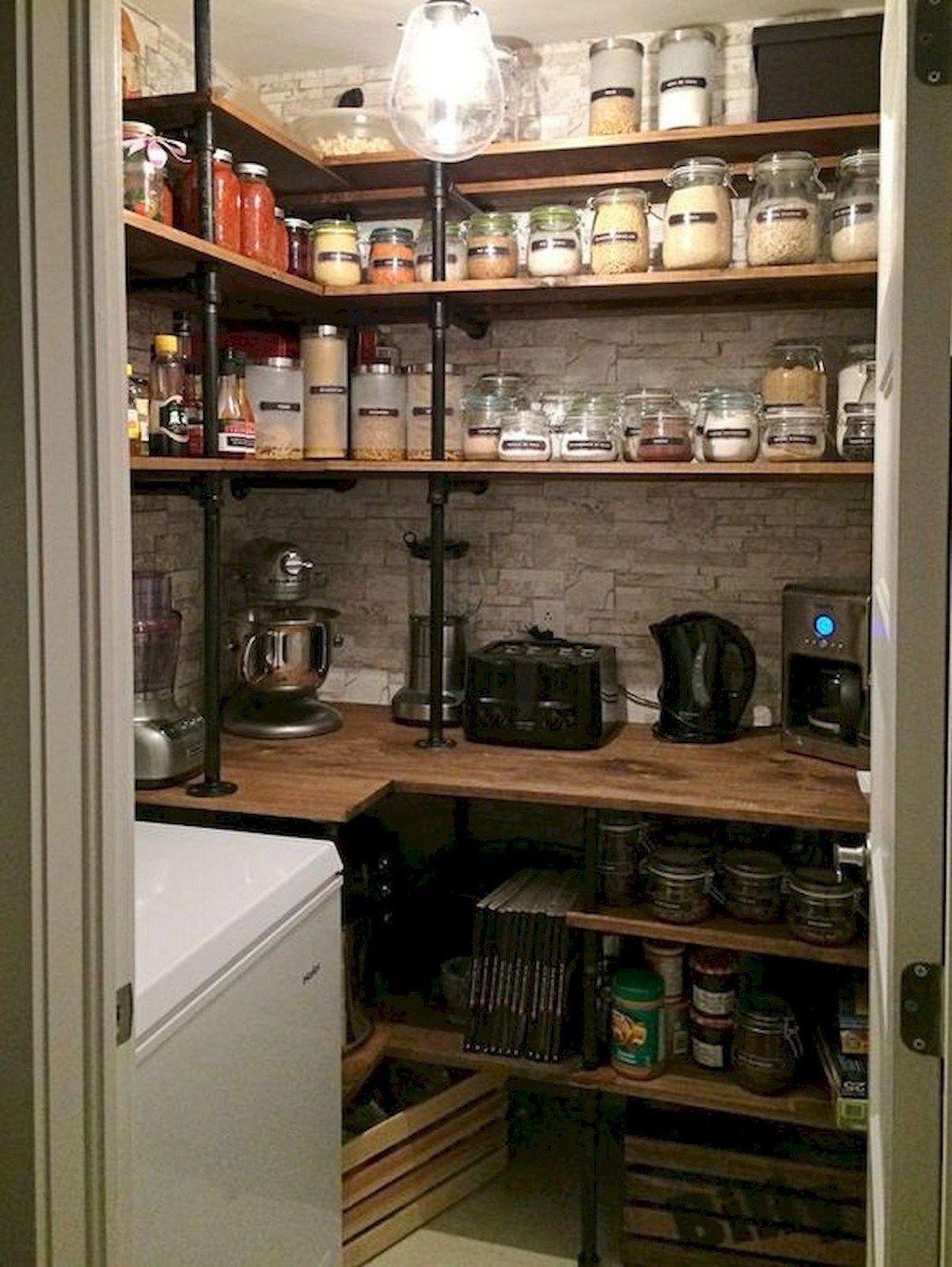 38 DIY Farmhouse Pantry Shelves Farmhouse Room Pantry