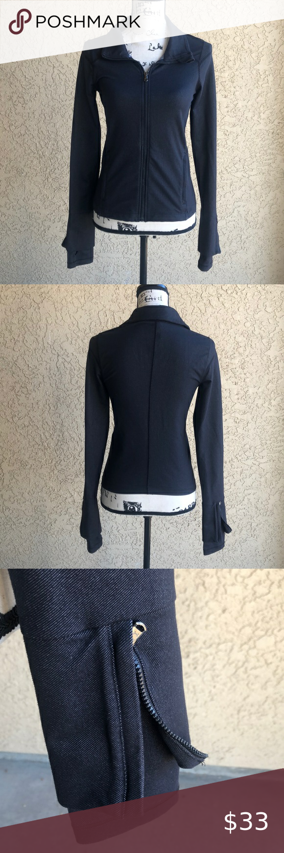 Under Armour Lux Lite Zipper Jacket Size Small In 2020 Fashion Trends Fashion Fashion Design
