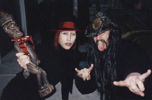Manson Zombie Rob Zombie Marilyn Manson Manson