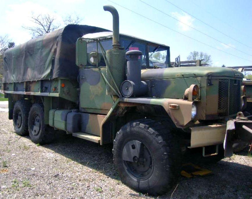 AM General M35A3 2 1/2 Ton Cargo Truck on GovLiquidation   Cars