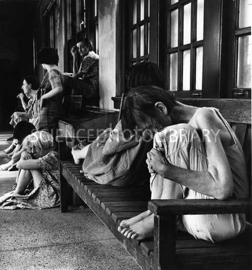 Ohio Insane Asylum, 1946 - Stock Image N560