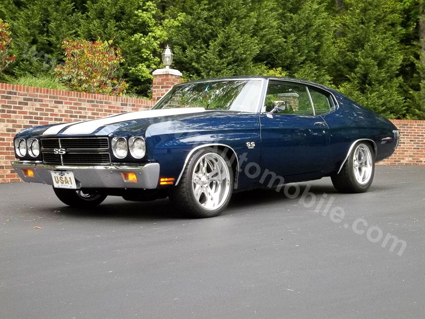 1970 Chevy Chevelle SS from Old Town Automobile. See pics and video ...