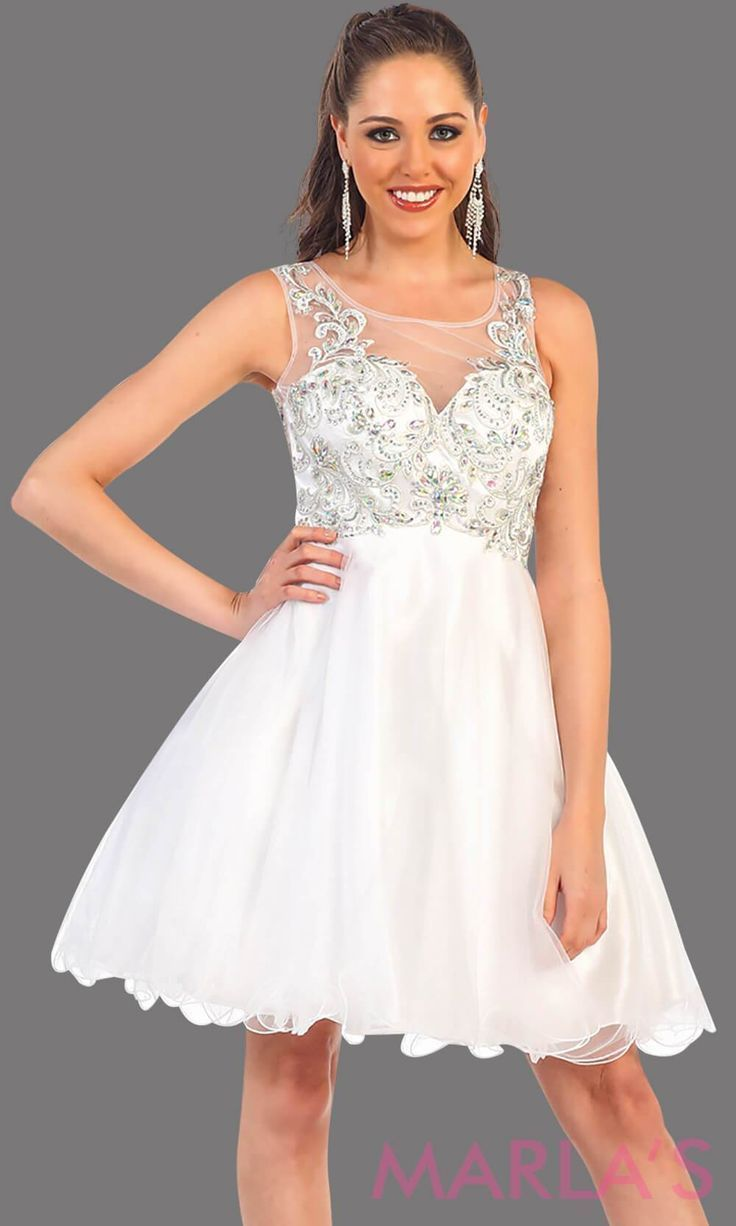 Short Puffy white grade 8 grad dress with rhinestone bodice. This is a perfect short prom dress, graduation dress, white damas, confirmation dress, or even, bridal shower dress. Avail in plus sizes #graduationdress  #graddress #promdress #bridaldress  #showerdress #confirmationdresses Short Puffy white grade 8 grad dress with rhinestone bodice. This is a perfect short prom dress, graduation dress, white damas, confirmation dress, or even, bridal shower dress. Avail in plus sizes #graduationdress #confirmationdresses