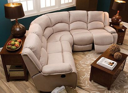Raymour Flannigan Kathy Ireland Home Collection Comfy Reclining Sectional Sof Sectional Sofa With Recliner Living Room Sectional Trendy Living Room Wallpaper