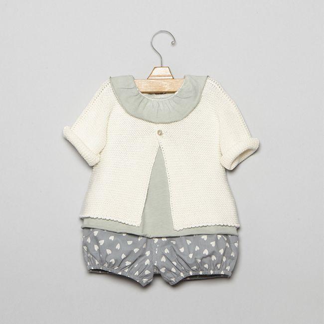Nícoli bebé, conjuntos preciosos para vestir a tu bebé esta primavera