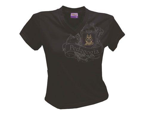 Camiseta Univeristária de Pedagogia    Sulgraf Camisetas  c8c1c350253d3