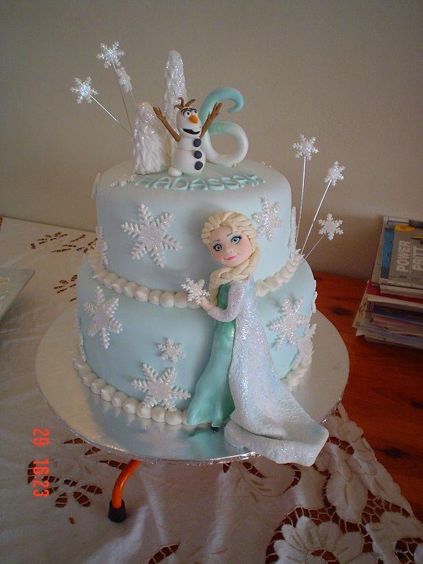 Disney's Frozen Elsa Cake