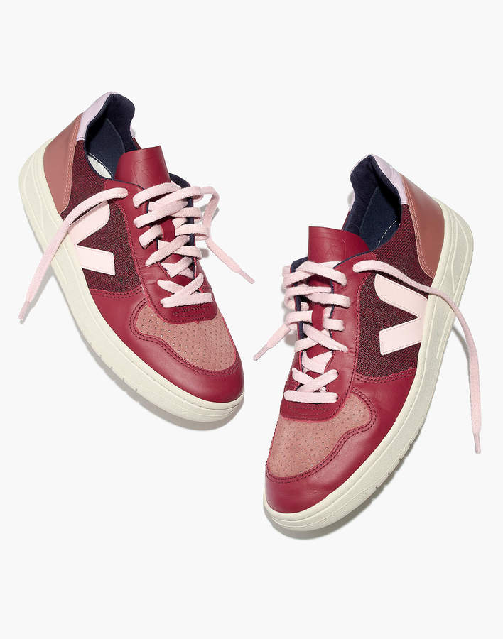 Veja™ V-10 Sneakers in Leather and