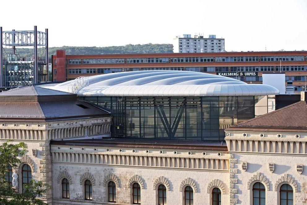 Europa Galerie Saarbrucken Membrane Roof Leisure Pools Roof