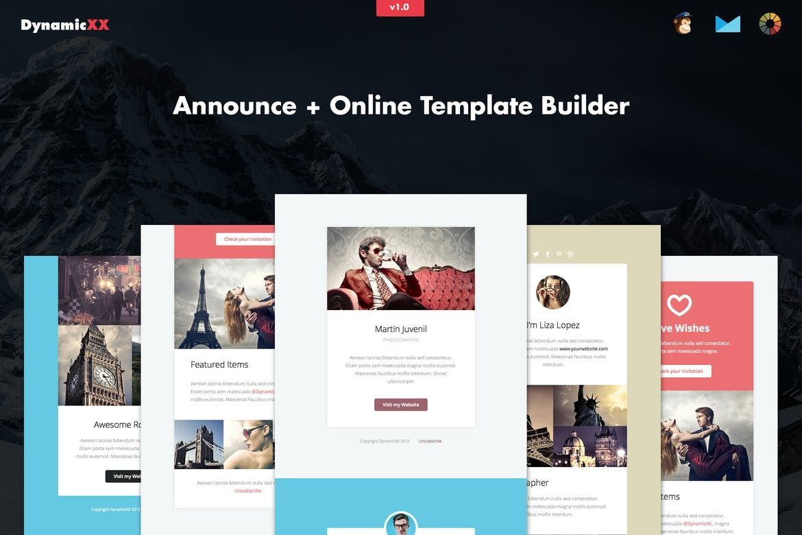 Announce Ecommerce Email Newsletter Template A Responsive