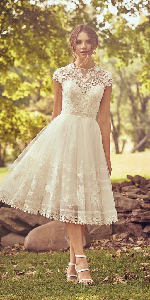Exclusive Knee Length Wedding Dresses ★ #bridalgown #weddingdress