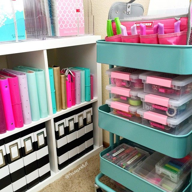 """""""I get a lot of questions on some of the storage and organization items I have in my office/craftroom, but would anyone be interested in an updated blog…"""""""