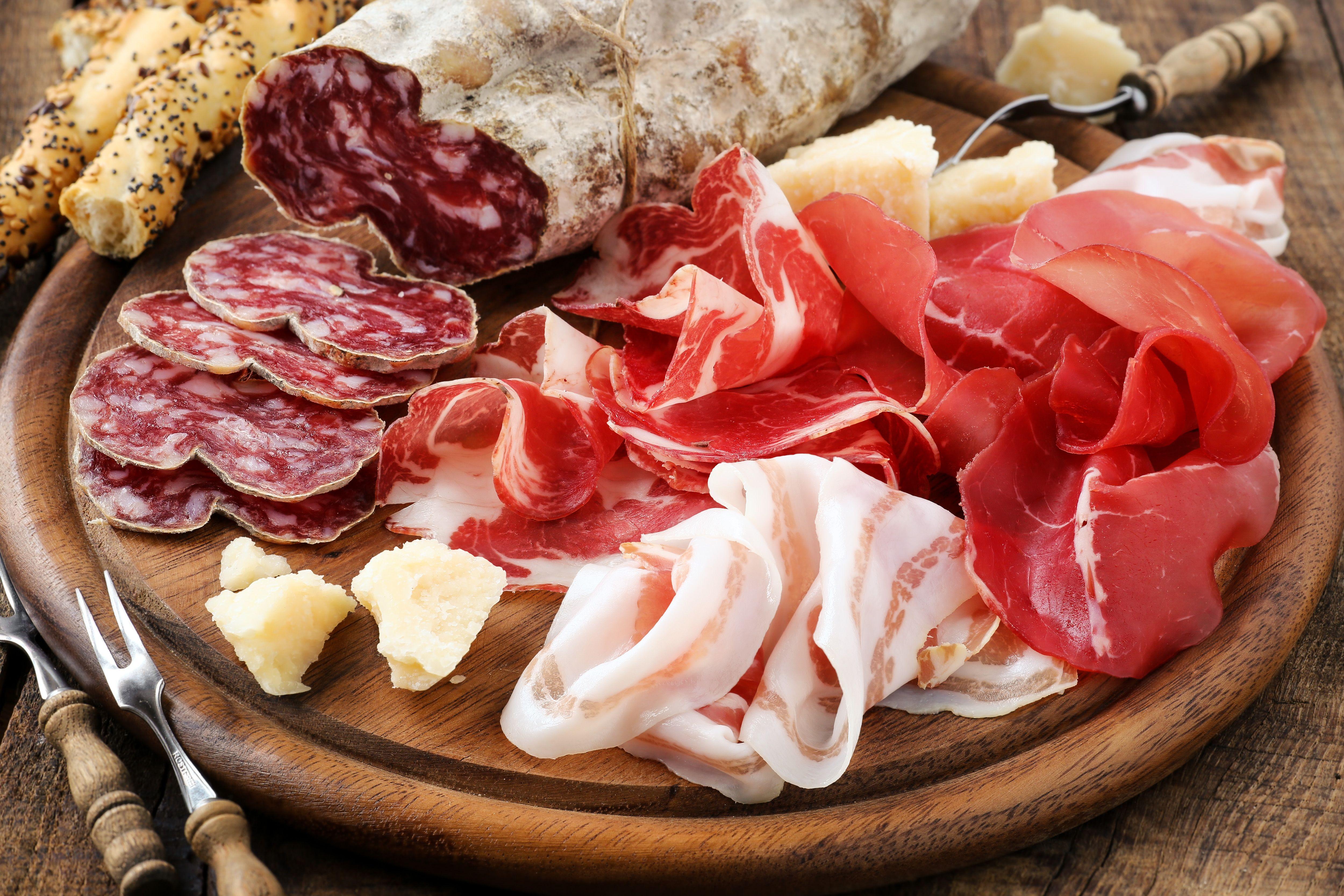 Prosciutto Substitute Italian Recipes Cured Meats Food