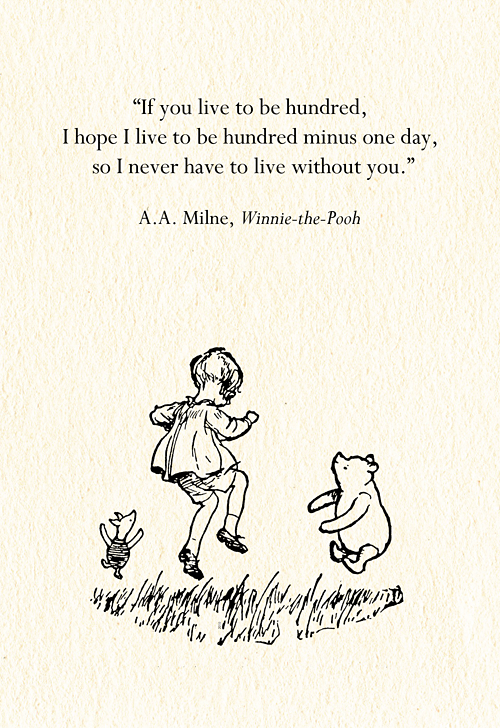 winnie the pooh one advantage of being disorderly is that one is constantly
