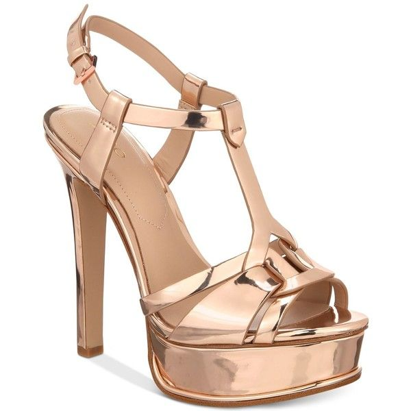67e66395cdb Aldo Chelly Platform Dress Sandals ( 90) ❤ liked on Polyvore featuring shoes