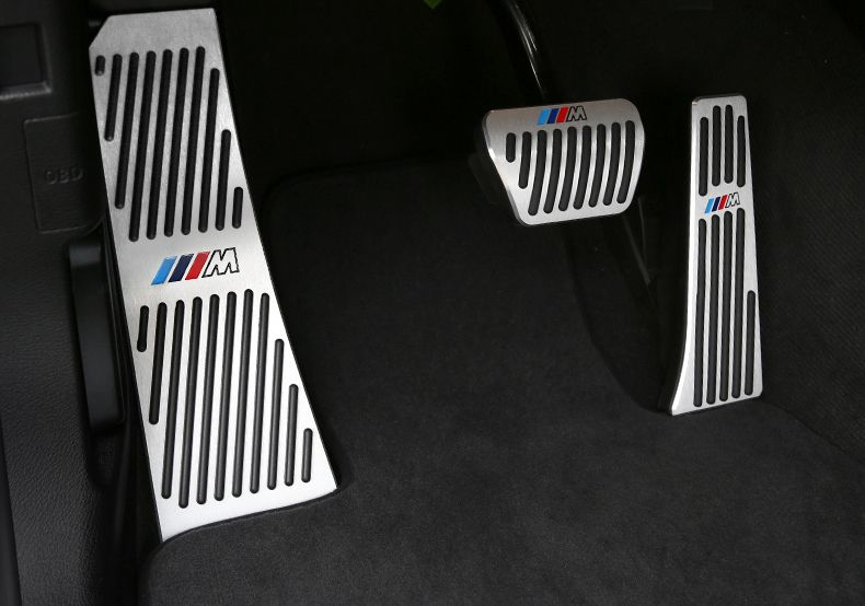 2013 2018 Bmw M Coloured Stripes Snap On Pedal Cover Series 3