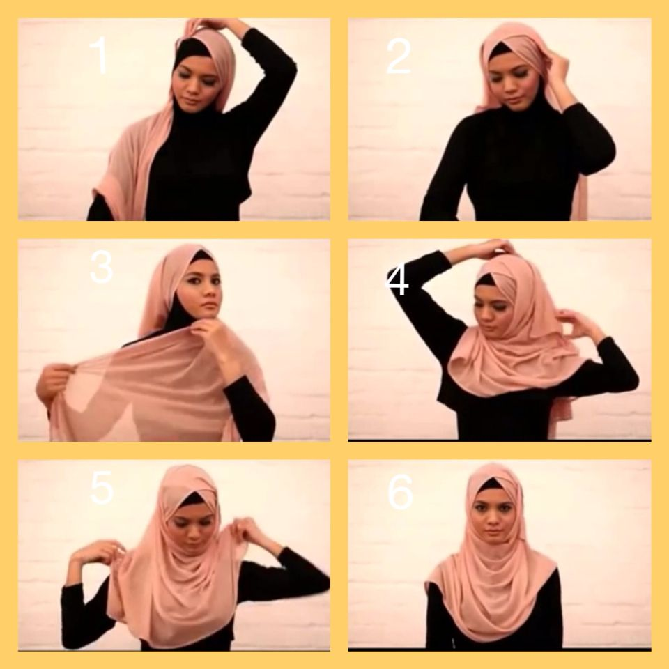 For Round Face Hijab Tutorial Pinterest Hijab Tutorial