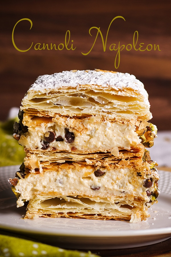 Photo of Cannoli Napoleon