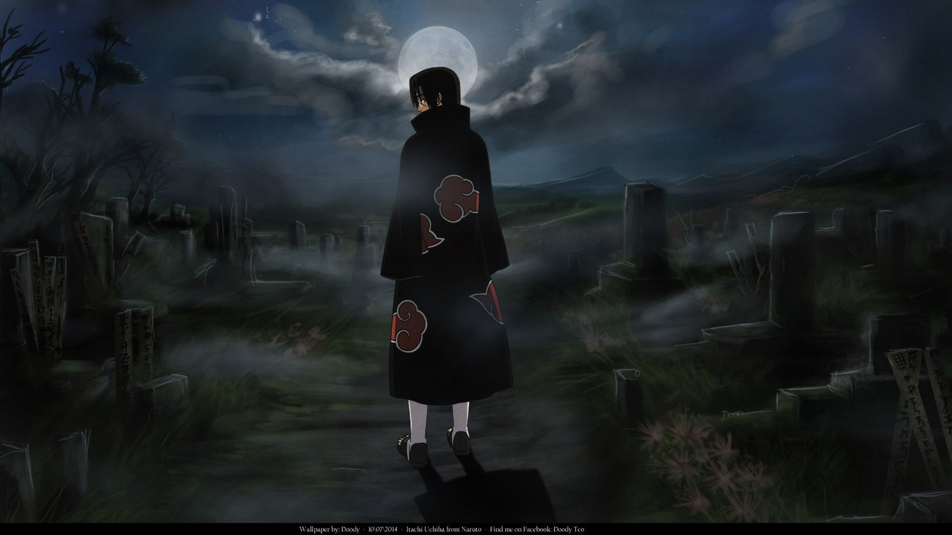 Anime Naruto Itachi Uchiha Wallpaper