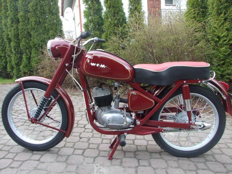 Polskajazda Motocykle Wfm Wfm M06 Motorbike Art Motorbikes Motorcycle