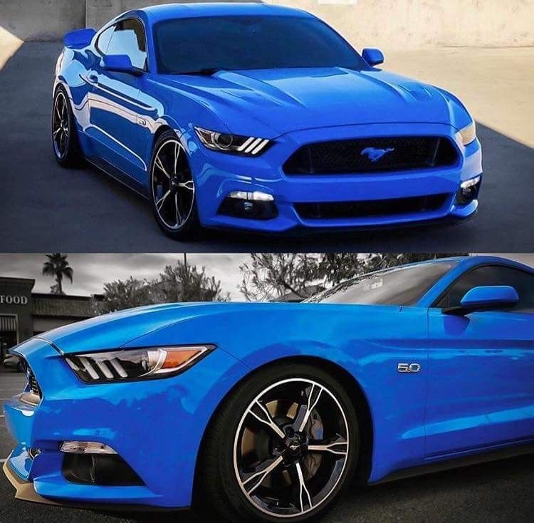 Beautiful Blue Mustang With Images Blue Mustang Classic