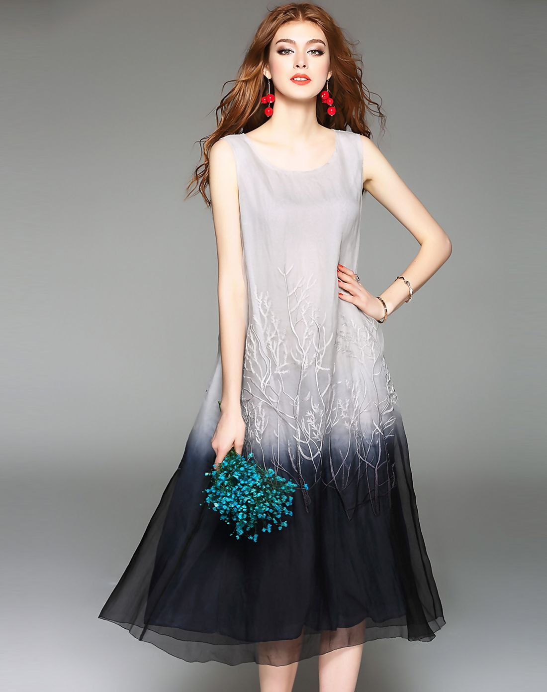 Adorewe vipme aline dressesdesigner dfanni gray