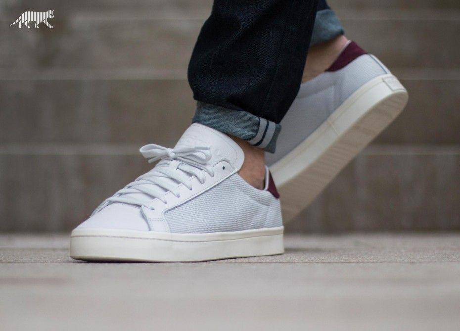 adidas Court Vantage (Vintage White / Chalk White ...