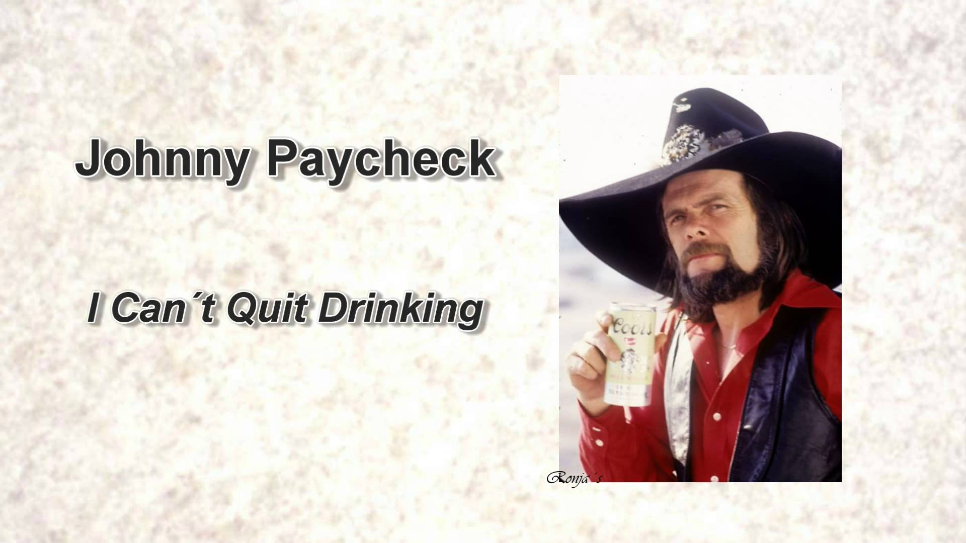 Johnny Paycheck I Can T Quit Drinking Willie Nelson Prison Grand Ole Opry